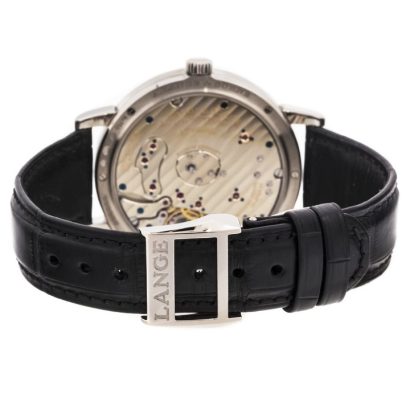 A Lange and Sohne 全新 117.028 G Grand Lange 1 40.9mm Mens Watch