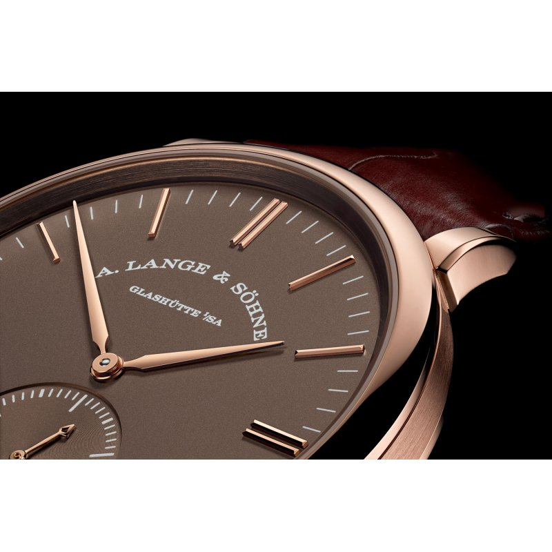 A Lange and Sohne 全新 380.042 Saxonia Automatic Watch