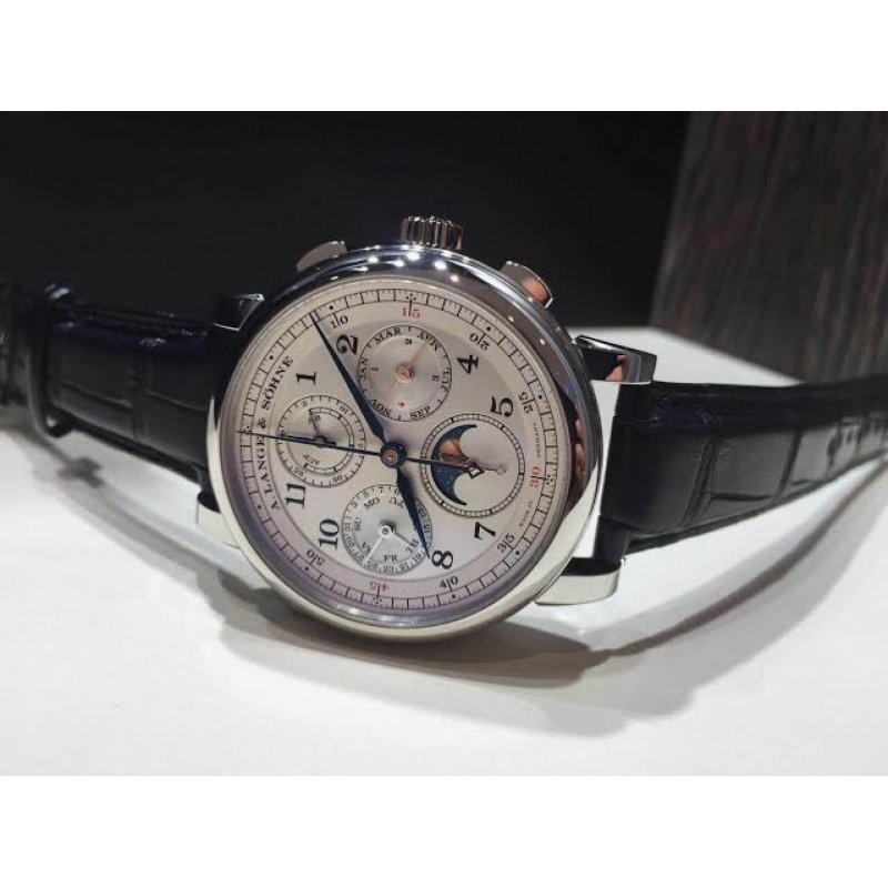 A. Lange & Söhne [NEW] 1815 Rattrapante Perpetual Calendar 421.025FE